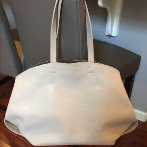 Zara Large Leather Tote